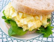 Eggs salad sandwich