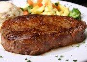 Steak in mustard and honey