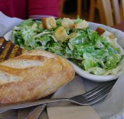Caesar salad sandwich